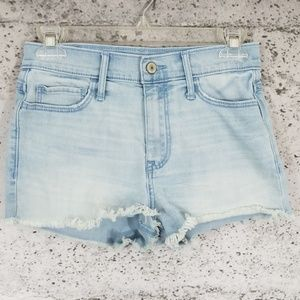 ABERCROMBIE & FITCH Bleached Cut Off Shorts 4
